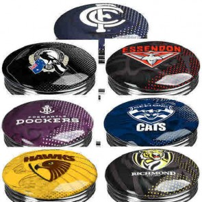 AFL Double Ring BAR STOOL - $159 Each - TEAM COLOUR