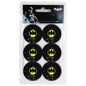 Batman TABLE TENNIS BALLS 6 x Pack