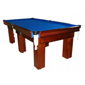 Charlton Pro Slate Square leg Pool Table Blue 8F