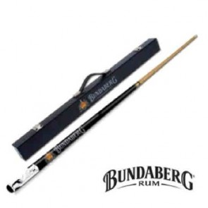 Pool Snooker Billiards CUE with CASE - Bundaberg Rum