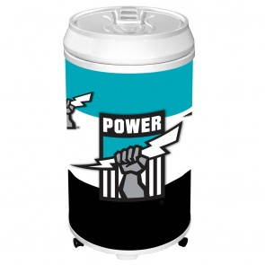 AFL Coola CAN FRIDGE - Port Adelaide POWER