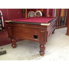 Hotel Pub 7 Ft Coin Op Pool Table Electronic