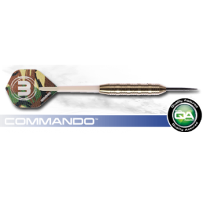 WINMAU COMMANDO NICKEL SILVER DARTS SET OF 3 22gm
