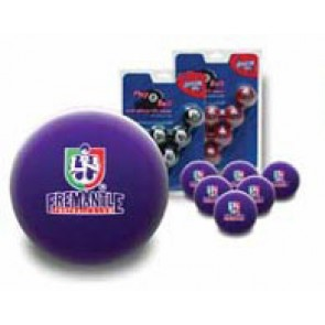 AFL Licensed POOL BALLS - 16 Ball Pack- Fremantle DOCKERS Old Logo