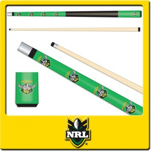 Licensed Nrl Canberra Raiders Junior Pool Cue