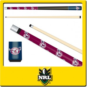 Licensed Nrl Manly Sea Eagles Junior Pool Cue