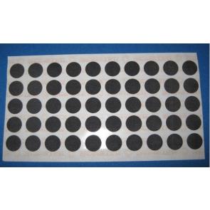 HOT SPOT TABLE SPOTS - BLACK 15mm (50 PCS) SELF ADHESIVE