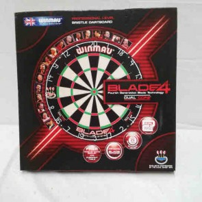 Professional Level Winmau Blade 4 DUAL CORE Best Quality Bristle DARTBOARD