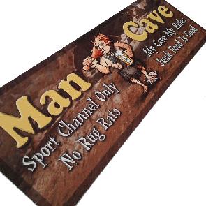 Man Cave Bar Runner