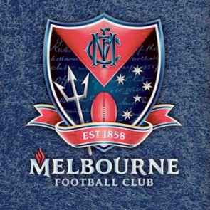 Official Licensed Afl Melbourne Demons Pool Cloth 7 Foot