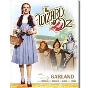 WOZ - Dorothy with Toto - Tin Sign