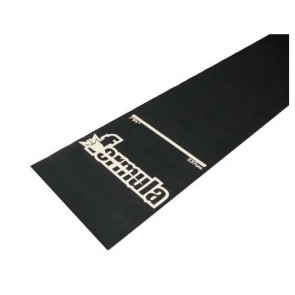 Non-Slip Heavy Duty Rubber Dart Board MAT - 3.05m x 0.62m - Correct Throwing Line Marker