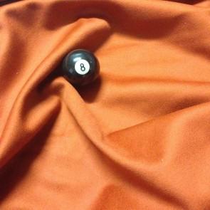 Eddie Charlton DIRECTIONAL Pool Snooker Billiards CLOTH 9ft x 4.6ft - PAPRIKA