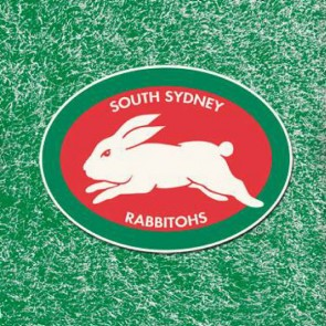 NRL Licensed Pool Snooker Billiards CLOTH 8 Foot - South Sydney RABBITOHS