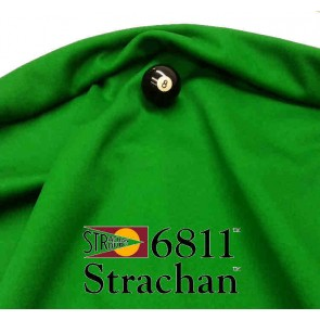 STRACHAN English Pool Snooker Billiards CLOTH - GREEN by Size