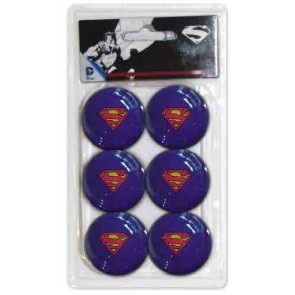 Superman TABLE TENNIS BALLS 6 x Pack