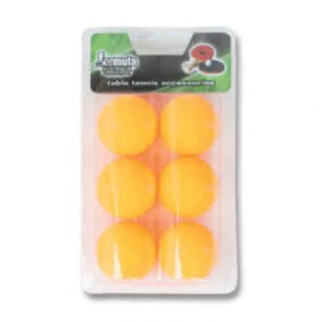 1 Star Orange Table Tennis BALLS 6 Pack