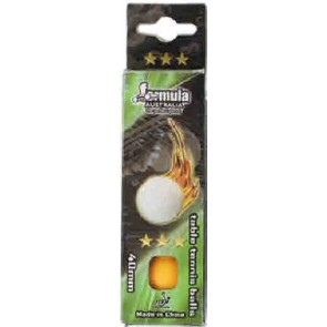 3 Star Orange TABLE TENNIS BALLS - 3 Pack