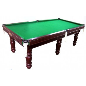 Charlton Professional Slate 6 leg Pool Table Walnut 9F