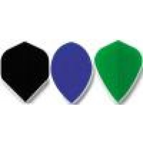 Fabric Plain DART FLIGHTS Kite - Set of 3