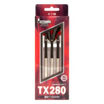 TX280 80% Tungsten Darts Alloy Shafts - In wallet 21gm