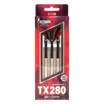 TX280 80% Tungsten Darts Alloy Shafts - In wallet 22gm