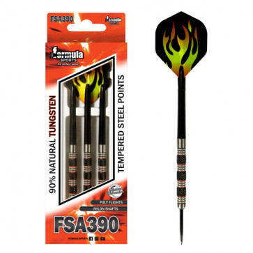 FSA390 90% Tungsten Dart Nylon Shafts - in Wallet 24gm