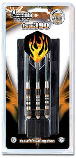 FSA390 90% Tungsten Dart Nylon Shafts - in Wallet 19gm