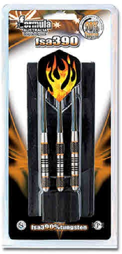 FSA390 90% Heavy Tungsten Dart Nylon Shafts - in Wallet 36gm