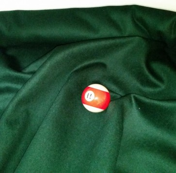 Eddie Charlton DIRECTIONAL Pool Snooker Billiards CLOTH 8ft x 4ft - SPRUCE