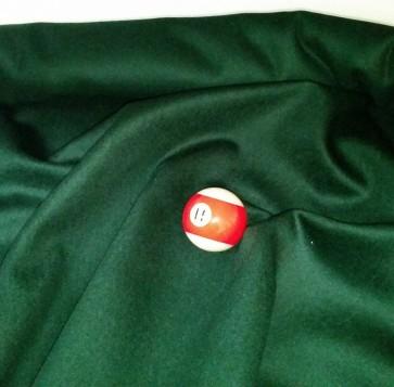 Eddie Charlton DIRECTIONAL Pool Snooker Billiards CLOTH 9ft x 4.6ft - SPRUCE