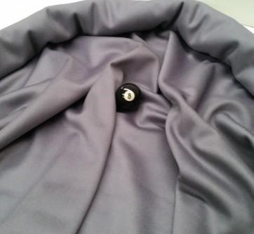 Eddie Charlton DIRECTIONAL Pool Snooker Billiards CLOTH 10X5 - GREY