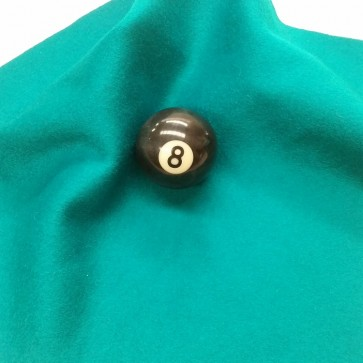 Eddie Charlton DIRECTIONAL Pool Snooker Billiards CLOTH 9ft x 4.6ft - TURQUOISE