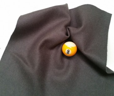 Eddie Charlton DIRECTIONAL Pool Snooker Billiards CLOTH 9ft x 4.6ft - CHARCOAL