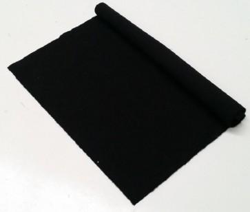 HAINSWORTH English Pool Snooker Billiards CLOTH 9ft x 4.6ft - BLACK