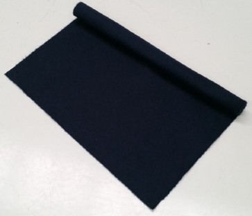 HAINSWORTH English Pool Snooker Billiards CLOTH 9ft x 4.6ft - NAVY