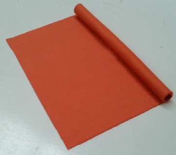 HAINSWORTH English Pool Snooker Billiards CLOTH 8ft x 4ft - ORANGE