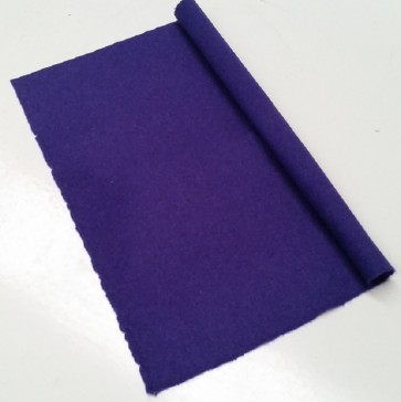 HAINSWORTH English Pool Snooker Billiards CLOTH 9ft x 4.6ft - PURPLE