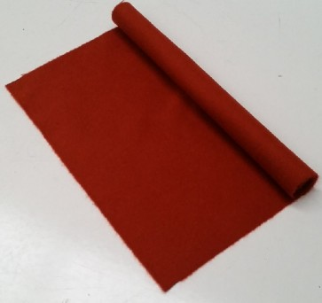 HAINSWORTH English Pool Snooker Billiards CLOTH 7ft x 3.6ft - PAPRIKA
