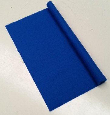HAINSWORTH English Pool Snooker Billiards CLOTH 9ft x 4.6ft - ROYAL BLUE
