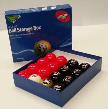 AFL Licensed POOL BALLS - 16 Pack - St Kilda SAINTS