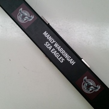 NRL Pool Snooker Billiards CUE CASE - Manly Warringah SEA EAGLES