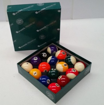 "Aramith KELLY POOL BALL Set 2 1/4"" - SUPER"