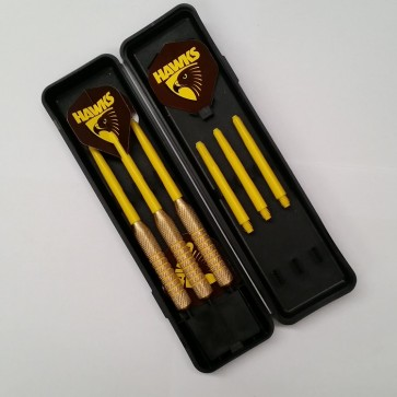 AFL Licensed DART SET - Hawthorn HAWKS