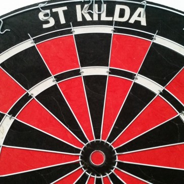 AFL Licensed DARTBOARD - St Kilda SAINTS