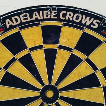 AFL Licensed DARTBOARD - Adelaide CROWS