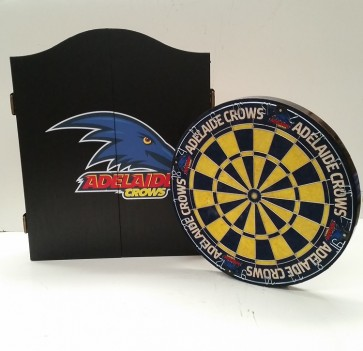 AFL Licensed DARTBOARD PACK - Adelaide CROWS