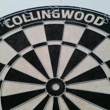AFL Licensed DARTBOARD - Collingwood MAGPIES