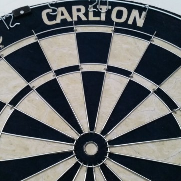 AFL Licensed DARTBOARD - Carlton BLUES
