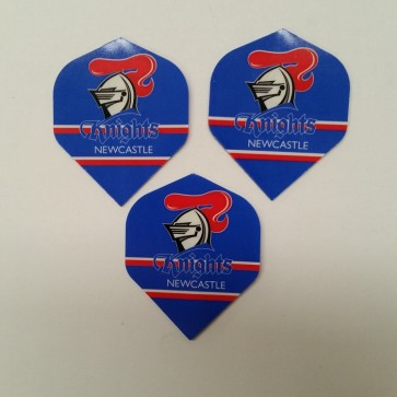 NRL Licensed DART FLIGHTS x 3 - Newcastle KNIGHTS